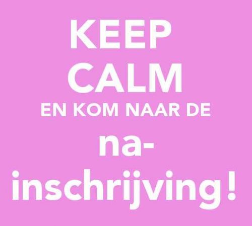 Na-inschrijving