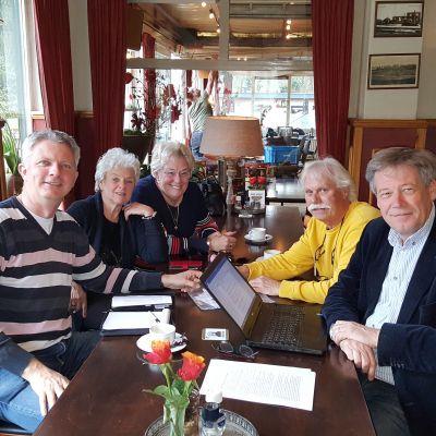 Gezellig gesprek met Bert van Asselt en Jane Harinck van de Queensclub
