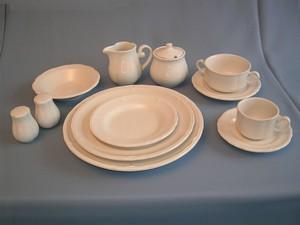 Porselein aardewerk servies huren