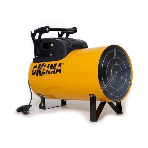 Gasheater incl. 10kg gas