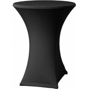 Statafelrok stretch zwart