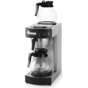 Koffiezetapparaat 2 x 1,8 L.