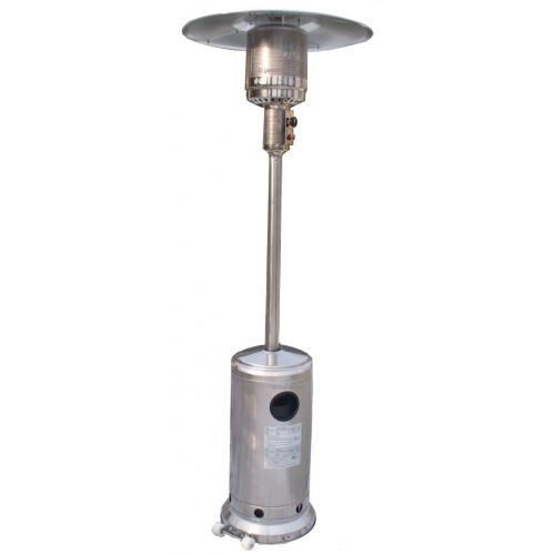 Patioheater RVS 12kw. incl. 10 kg. Propaan