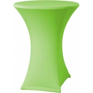 Statafelrok stretch groen