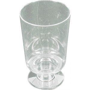 Plastic wijnglazen 15cl.