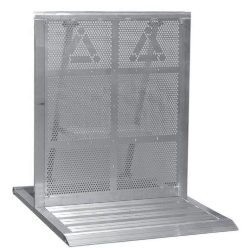Stage Barier aluminium recht