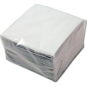Papieren servet wit