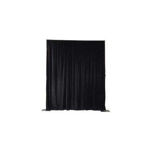 Pipe- and Drape, zwart, 3 meter hoog