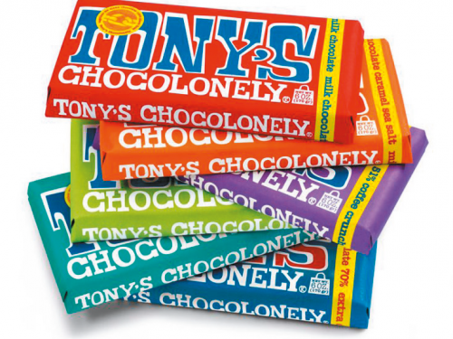 Van Tol Import-Export en Tony's Chocolonely