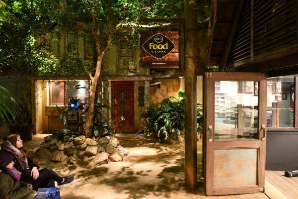 Opening Deli Food Store