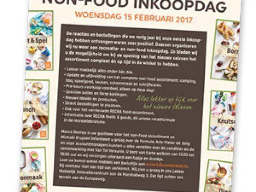 Non-food inkoopdag op 15 februari