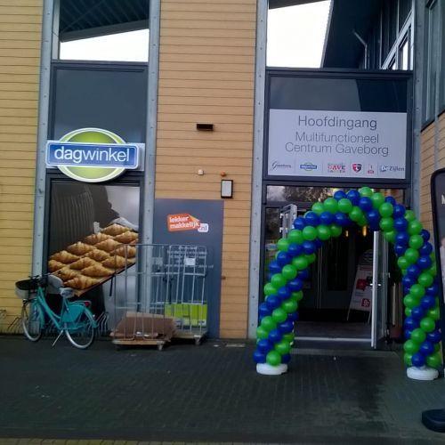 Opening nieuwe Dagwinkel in Oostwold