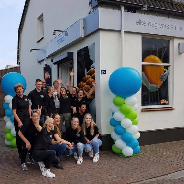 Dagwinkel Milheeze is geopend