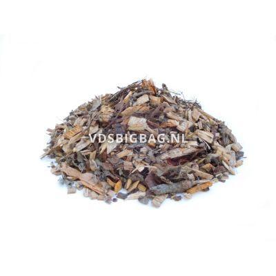 Groene houtsnippers, big bag 1 m³
