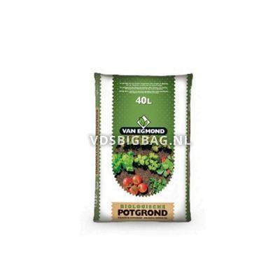 Potgrond biologisch, zak 40 liter