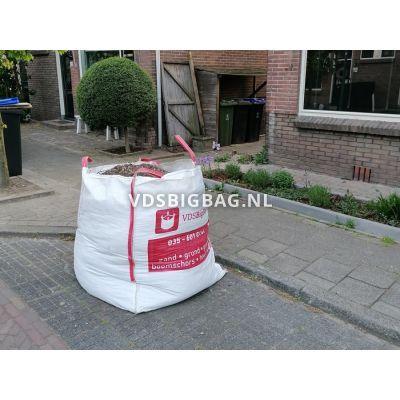 Schoon puin in big bag 1 m³, big bag reeds bij u in bezit