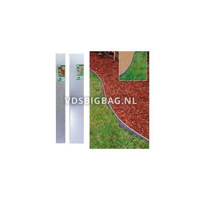 Graskant (lxb) 118x20 cm metaal