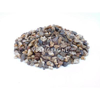 Tuingrind wit/bruin/zwart 8-16 mm, big bag 1 m³