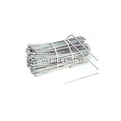 Gronddoekpen, metaal U-profiel, (lxbxd) 20x2,5x20 cm