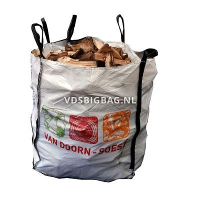 Haardhout, big bag 1 m³