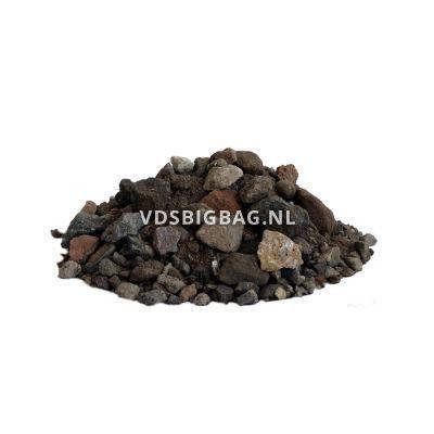 Menggranulaat van gebroken puin 20-31,5 mm, big bag 1 m³