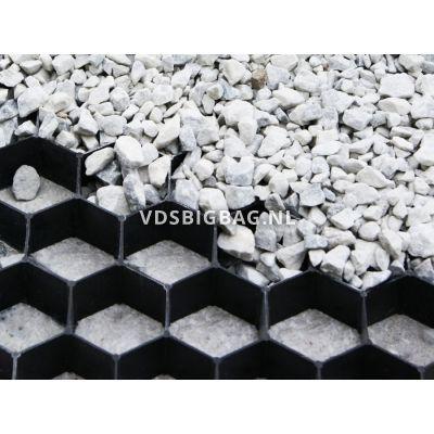 Splitplaat (lxbxh) 50x50x3,8 cm, 0,25 m², zwart