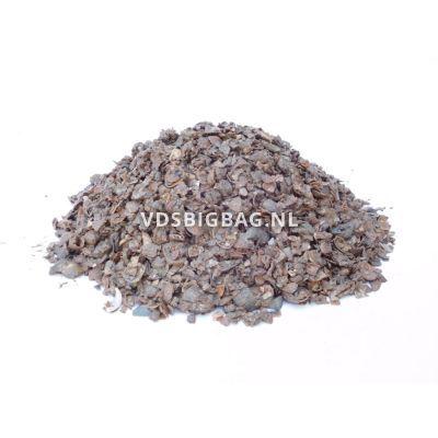 Kleischelpen geel/bruin/wit 3-15 mm, big bag 1 m³