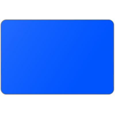 Vlag effen Blauw (50x75cm)
