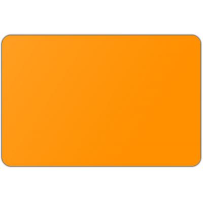 Vlag effen Oranje (50x75cm)