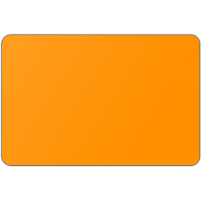Vlag effen Oranje (100x150cm)