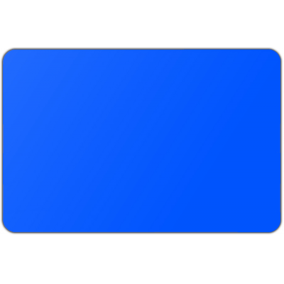 Vlag effen Blauw (70x100cm)