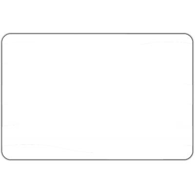 Vlag effen Wit (50x75cm)