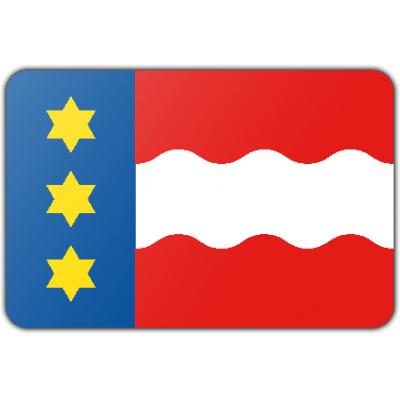 Gemeente Dongeradeel vlag (100x150cm)