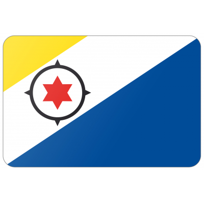 Gemeente Bonaire vlag (70x100cm)