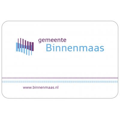 Gemeente Binnenmaas vlag (70x100cm)