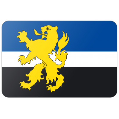 Gemeente Hilvarenbeek vlag (200x300cm)