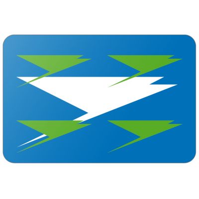 Gemeente Zuidhorn vlag (150x225cm)