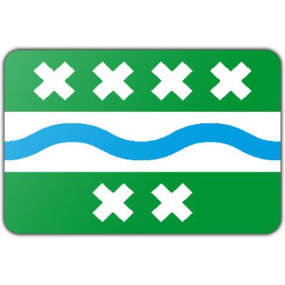 Gemeente Bernisse vlag (150x225cm)