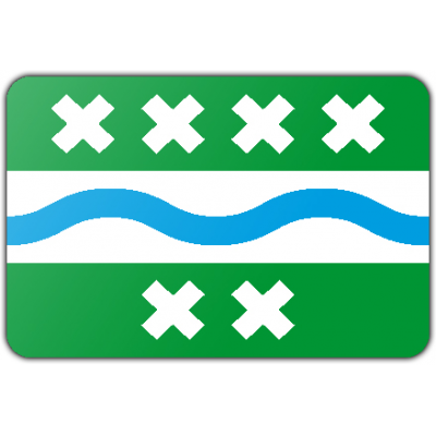 Gemeente Bernisse vlag (200x300cm)