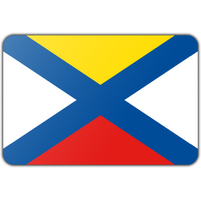 Gemeente Katwijk vlag (200x300cm)
