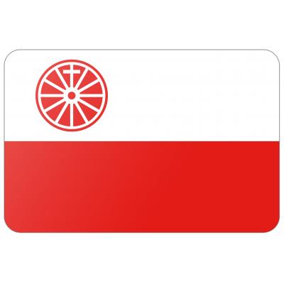 Gemeente Wageningen vlag (200x300cm)
