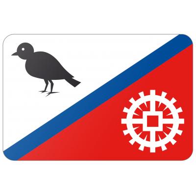 Gemeente Hardinxveld-Giessendam vlag (70x100cm)