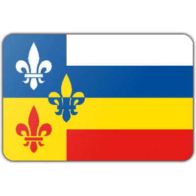 Gemeente Bergeijk vlag (150x225cm)