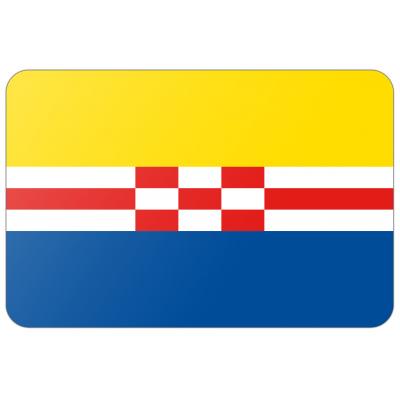 Gemeente Zwartewaterland vlag (150x225cm)