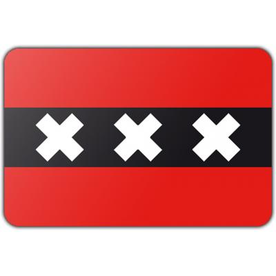 Gemeente Amsterdam vlag (150x225cm)
