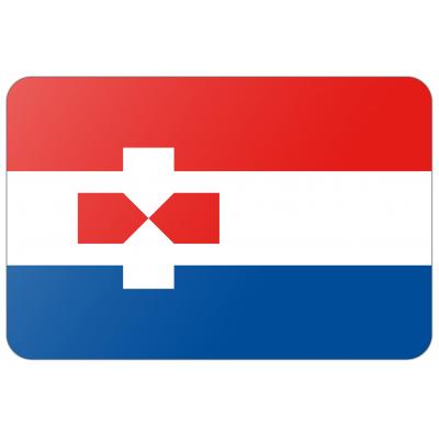 Gemeente Zaanstad vlag (150x225cm)