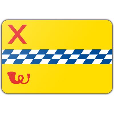 Gemeente Woerden vlag (200x300cm)