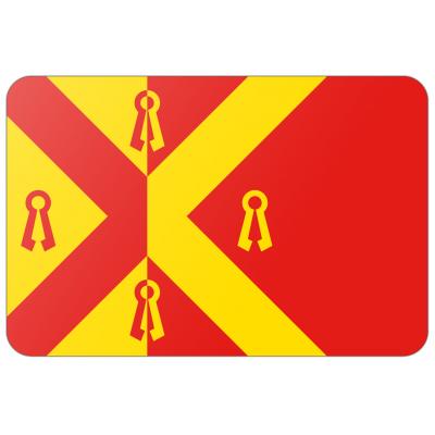 Gemeente Gennep vlag (200x300cm)