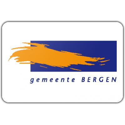 Gemeente Bergen (NH) vlag (70x100cm)