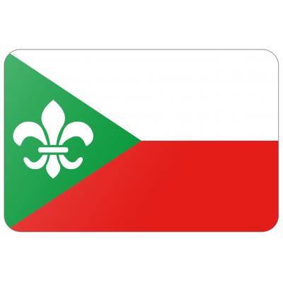 Gemeente Zundert vlag (150x225cm)